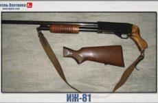 ИЖ-81. Первое помповое ружьё, характеристика и модификации