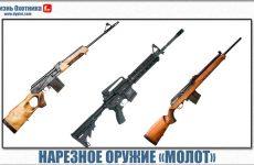 Нарезное оружие «Молот». Обзор и характеристика